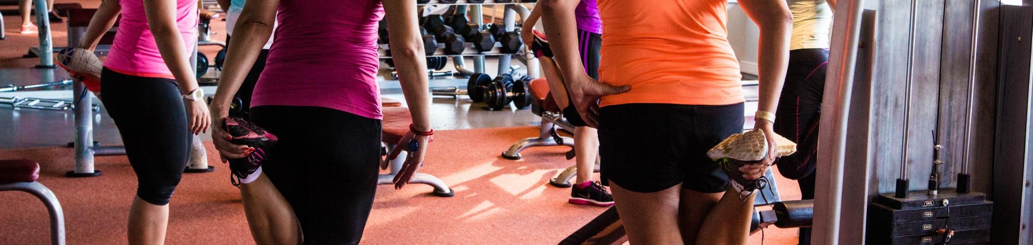 Jõusaali treeningud naistele